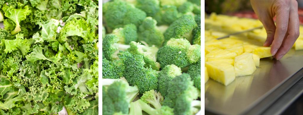 Kale-Brocolli-Pineapple Banner